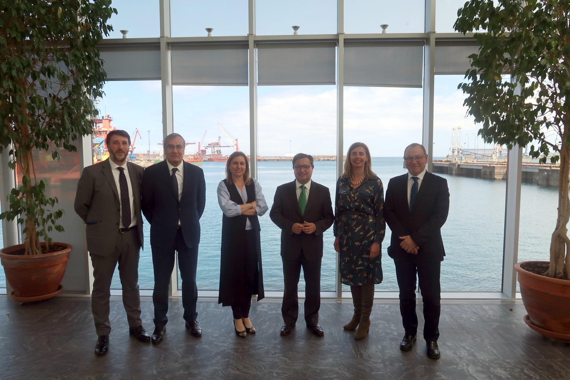 Imagen noticia:  El CEEI Asturias y el IDEPA colaboran con los puertos de Gijón y Avilés en impulsar proyectos 4.0